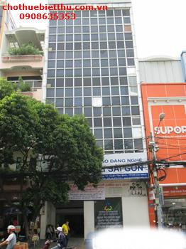 Cho thuê tòa nhà quận 3 mặt tiền Huỳnh Tịnh Của
