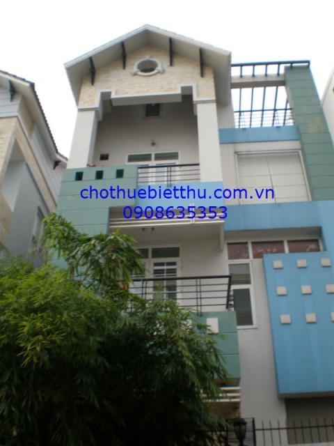 Cho thuê biệt thự Phú Nhuận đường Hoa Lan