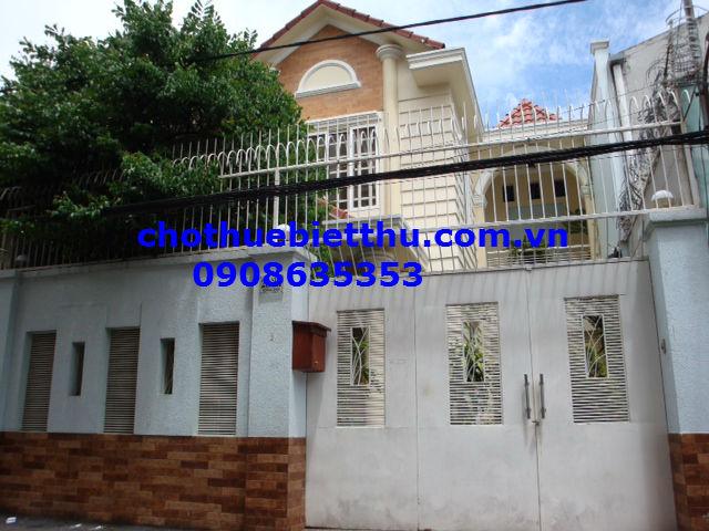 Cho thuê biệt thự quận Phú Nhuận đường Hoàng Diệu