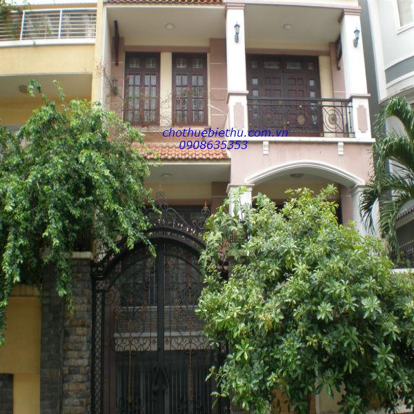 Cho thuê biệt thự Phú Nhuận MT đường Hoa Đào
