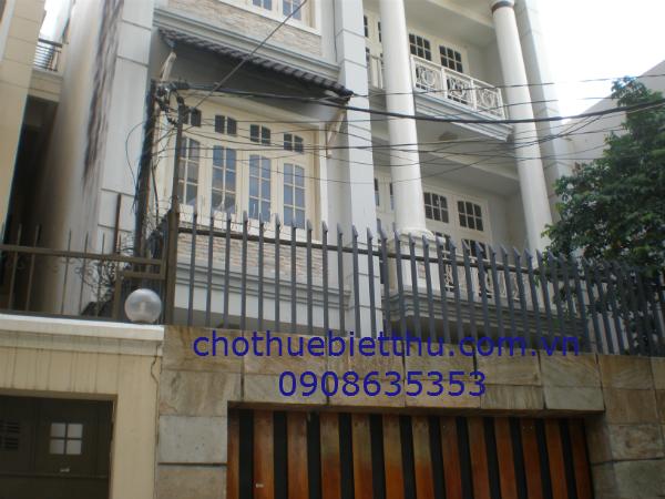 Cho thuê biệt thự quận Phú Nhuận đường Nguyễn Văn Trỗi