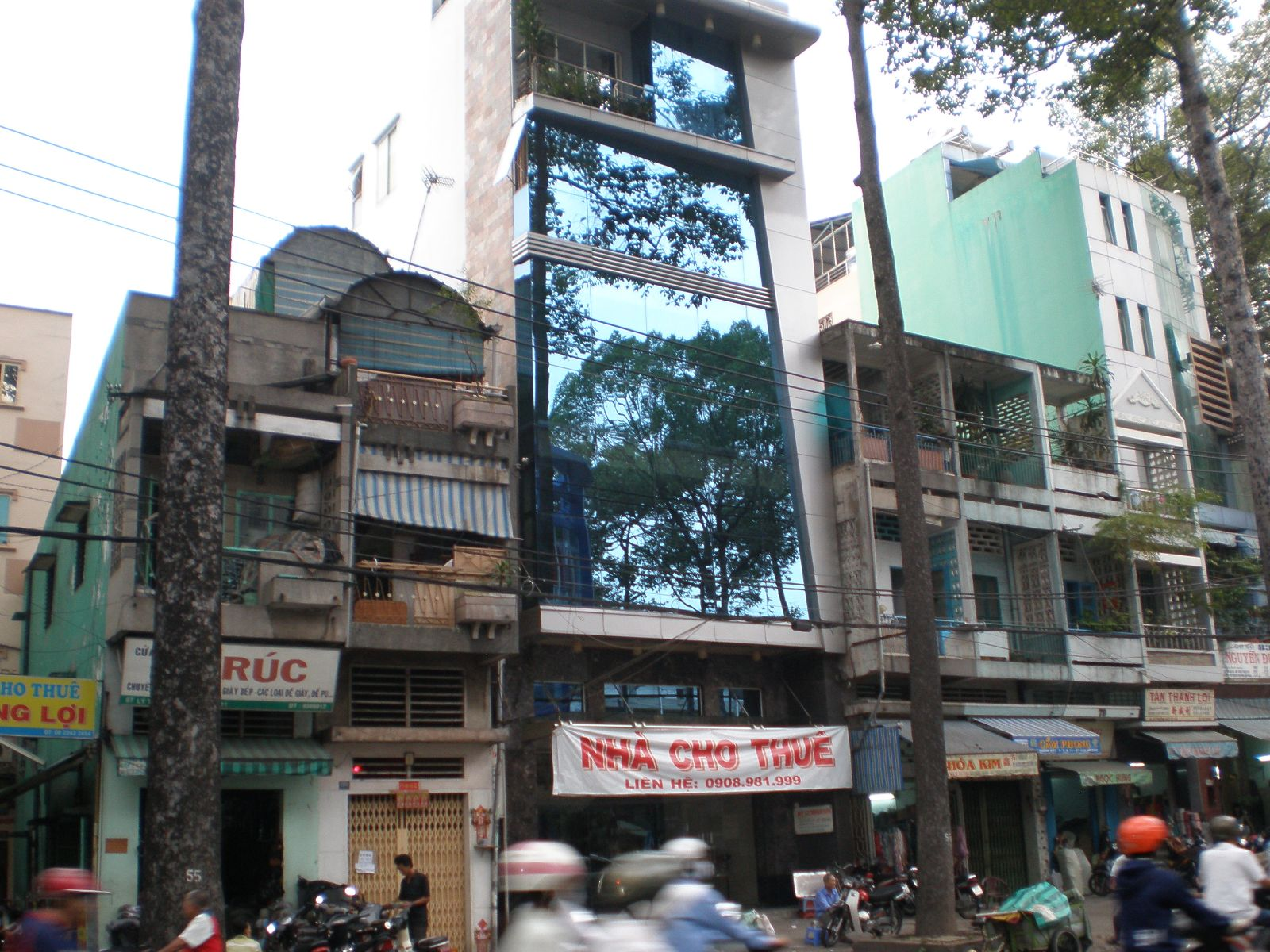 Cho thuê mặt tiền đường Trương Định quận 3
