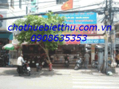 Cho thuê mặt bằng quận 3 MT đường Nguyễn ĐÌnh Chiểu