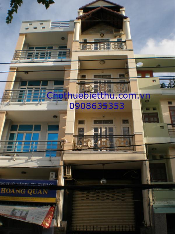 Cho thuê nhà Phú Nhuận mặt tiền đường Hoa Lan