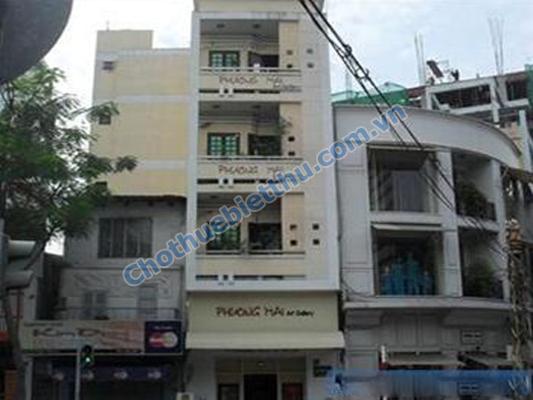 Cho thuê nhà quận 3 mặt tiền đường Số 1 cư xá Đô Thành