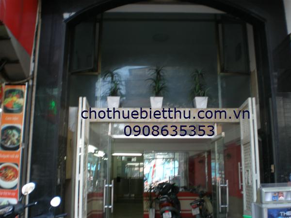 Cho thuê nhà quận 1 mặt tiền đường Nguyễn Thái Học